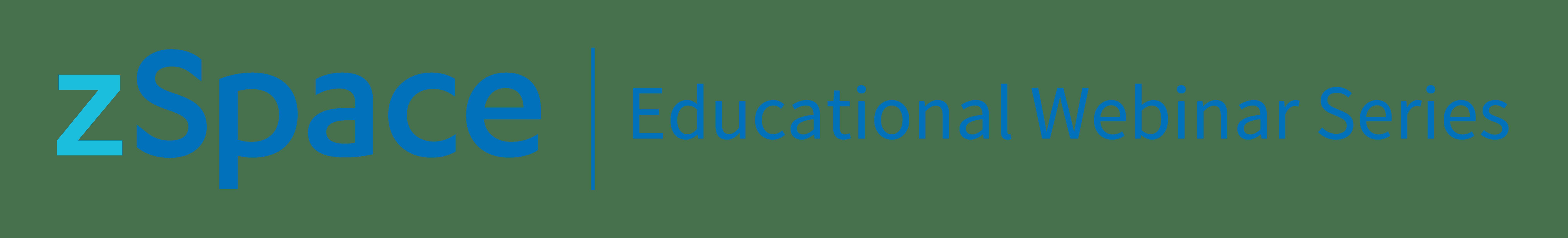 zSpace Educational Webinar Series_Logo-1